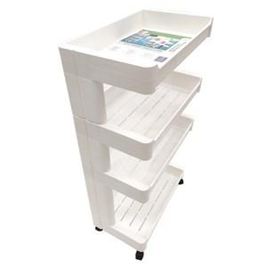 Imagen de Mueble estantería de plástico, 4 estantes