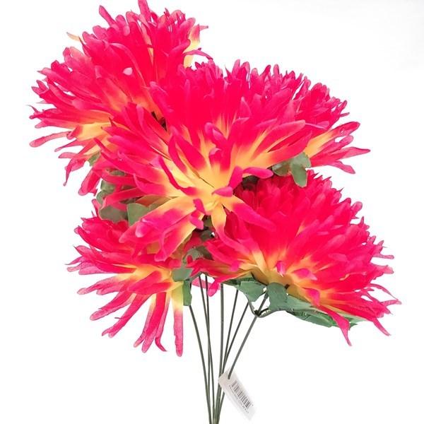 Imagen de Ramo 7 flores crisantemos grandes, varios colores