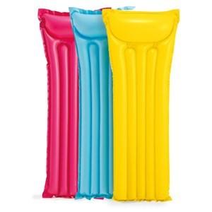 Imagen de Inflable flotador colchoneta, varios colores, en bolsa, INTEX