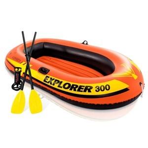 Imagen de Inflable bote 3 personas, en caja, INTEX