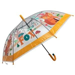 Imagen de Paraguas infantil automático transparente, con chifle, varios diseños