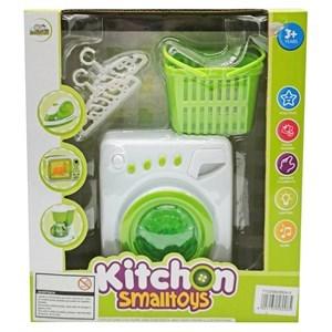 Imagen de Electrodomésticos, lavarropas con luz y sonido, con accesorios, 2AA, en caja