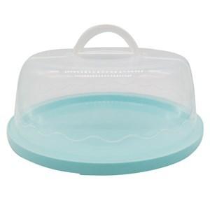 Imagen de Cubre torta, campana de plástico, para tortas de 26cm de diámetro, varios colores