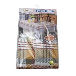 Imagen de Mantel cuadrado de PVC afelpado, 152x152cm, varios diseños, en bolsa