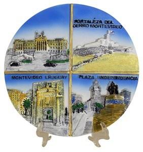 Imagen de Plato decorativo Montevideo