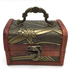 Imagen de Cofre de madera chico, varios diseños