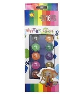 Imagen de Acuarelas 16 colores, en caja