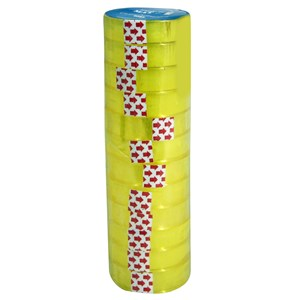 Imagen de Cinta adhesiva Matpack 20ys x12mm, para cintero, PACK x12 rollos