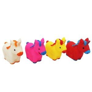 Imagen de Animales de goma con chifle, unicornios, en bolsa