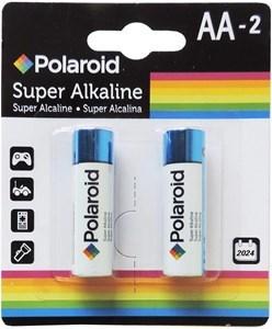 Imagen de Pilas POLAROID, alcalinas, AA x2, en blister, caja x12