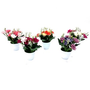 Imagen de Planta con flores de azalea, varios colores