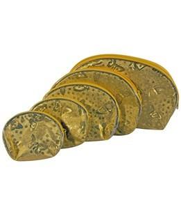Imagen de Neceser de PVC, x5, plateado o dorado