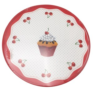 Imagen de Base giratoria de plástico, 30cm, para presentar o decorar tortas, varios diseños