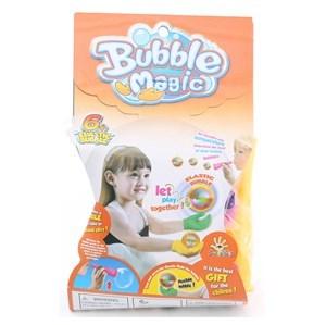 Imagen de Pompero y guante para jugar con pompas de jabón, no las rompe, en blister