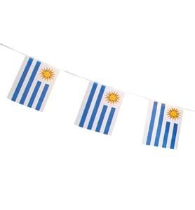 Imagen de Banderines bandera de Uruguay x10, en bolsa