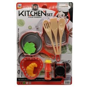 Imagen de Set de cocina, 11 piezas, en blister