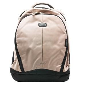 Imagen de Mochila EUROCASE beige, 2 compartimientos, 1 para laptop, bolsillo fontal con reparticiones, espalda super acolchonada
