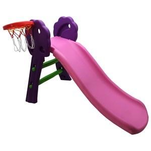 Imagen de Tobogán de plástico con aro de basket, en caja
