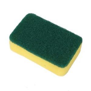 Imagen de Esponja de cocina x2, doble uso, en cartón