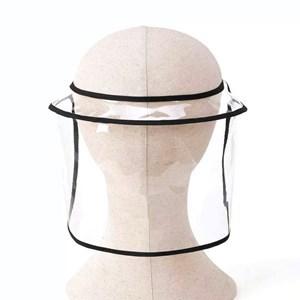 Imagen de Máscara protectora de rostro, para gorros, de PVC