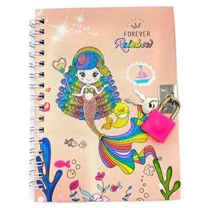 Imagen de Diario íntimo con candado, 45 hojas, varios diseños