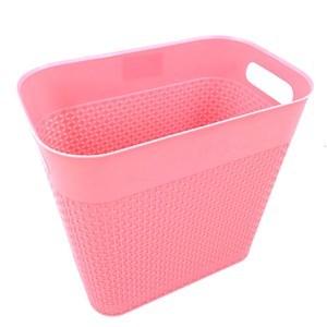 Imagen de Papelera de plástico 9L, con agarradera varios colores