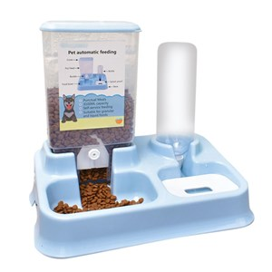 Imagen de Dispensador de alimento y agua para mascotas